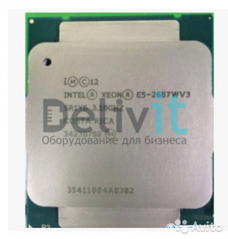 Процессор HP DL360 Gen9 Intel Xeon E5-2687Wv3 (3.1GHz/10-core/25MB/160W) Processor Kit