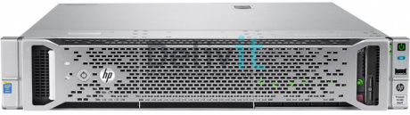 Сервер HP DL180 Gen9, 1(up2)x E5-2609v4 8C 1.7GHz, 1x8GB-R DDR4-2400T, H240/ZM (RAID 1+0/5/5+0) noHDD (8/16 SFF 2.5'' HP) 1x550W NHP NonRPS,2x1Gb/s,noDVD,iLO4.2, Rack2U, 3-1-1