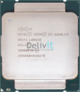 Процессор HP DL360 Gen9 Intel Xeon E5-2650Lv3 (1.8GHz/12-core/30MB/65W) Processor Kit