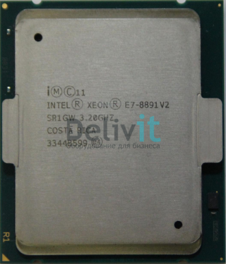 Процессор HP DL580 Gen8 Intel Xeon E7-8891v2 (3.2GHz/10-core/37.5MB/155W) Processor Kit