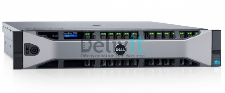 "Сервер Dell PowerEdge R730 1xE5-2630v4 2x16Gb 2RRD x16 1x600Gb 10K 2.5"" SAS RW H730 iD8En 5720 4P 2x750W 3Y PNBD"