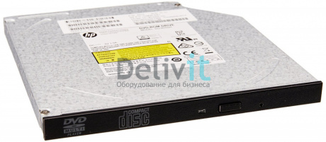 Оптический привод HP 9.5mm SATA DVD ROM JackBlack Kit (DL160, 360 Gen8)