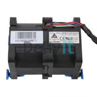 Вентилятор HP Dual rotor fan module assembly - Includes the fan module with latch and cable assembly