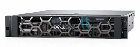 Сервер Dell PowerEdge R740, 2xIntel Xeon Gold 6128 3400MHz, DDR4 REG 2x16GB, 16xSFF, PERC H730p, 4x1GbE, noDVD, 2x750W, Rack, 2U