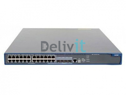 Коммутатор HP 5120-24G-PoE+ EI Switch w/2 Intf Slts, 24 RJ-45 autosensing 10/100/1000 ports, 4 dual-personality ports; PoE auto-sensing 10/100/1000Base-T or SFP, min 0 \ max 4 SFP Transceivers, 2 port expansion module slots, Power supply included, 1U
