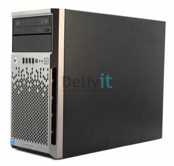 Сервер HP ML310e Gen8v2, 1x i3-4150 2C 3.5 GHz, 1x2Gb-U, B120i (RAID 0,1,10) noHDD (4 LFF 3.5'' NHP) 1x350W NHP(up2 СS-460W Gld), 2x1Gb/s,noDVD,iLO4,Tower-4U,1y