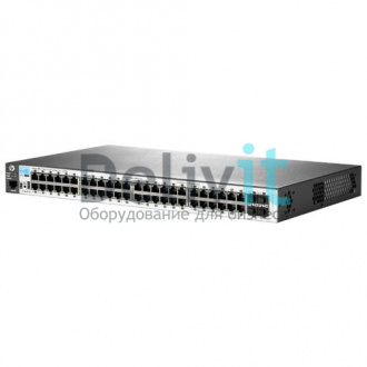 Коммутатор HP 2530-48G Switch Managed, 48*10/100/1000 + 4 SFP, 19""