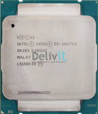 Процессор HP DL380 Gen9 Intel Xeon E5-2667v3 (3.2GHz/8-core/20MB/135W) Processor Kit