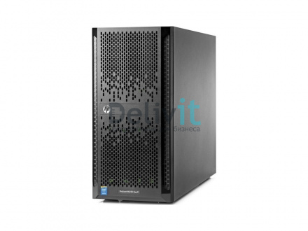 "Сервер HP ML150 Gen9, 1(up2)x E5-2620v4 8C 2.1GHz, 1x16GB-R DDR4-2400T, H240/ZM (RAID 1+0/5/5+0) noHDD (8/16 SFF 2.5"" HP) 1x800W Gold (up2), 2x1Gb/s,noDVD,iLO4.2, Tower-5U, 3-1-1"