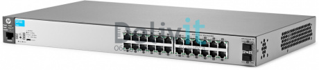Коммутатор HP 2530-24G-2SFP+ Switch 24 x 10/100/1000 + 2 x SFP+, Managed, L2, virtual stacking, 19""