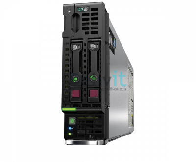 Сервер HP BL460c Gen9, 1(up2)x E5-2640v4 10C 2.4GHz, 2x16GB-R DDR4-2400T, P244br/ZM (RAID 1+0) noHDD (2 SFF 2.5'' HP) , 2x10Gb/s FlexLOM,No optical bay,iLO4.2,half-height