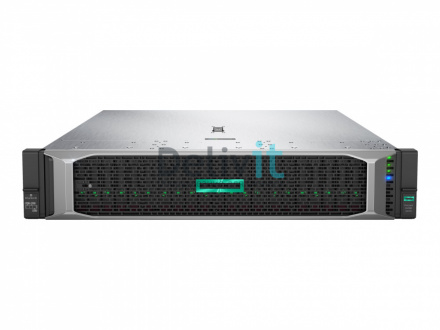 Сервер HPE DL380 Gen10, 1(up2)x 3106 Xeon-B 8C 1.7GHz, 1x16GB-R DDR4, S100i/ZM (RAID 0,1,5,10) noHDD (8 LFF 3.5'' HP) 1x500W (up2), 4x1Gb/s, noDVD, iLO5, Rack2U, 3-3-3