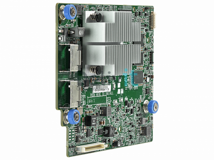 Контроллер HP Smart Array P440ar Adaptive RAID On Chip (AROC) daughterboard controller, Two internal x4 mini-SAS ports, 2GB of embedded flashed back write cache (FBWC) memory