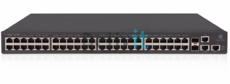 Коммутатор HPE FlexNetwork 5130 48G 2SFP+ 2XGT EI Switch, 48 RJ-45 autosensing 10/100/1000 ports, 2 SFP+ ports min 0 \ max 2 SFP  Transceivers, 2 RJ-45 1/10GBASE-T ports, Power supply included, 1U