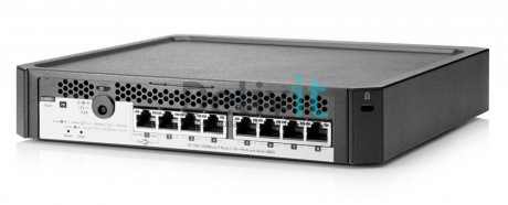Коммутатор HP PS1810-8G Switch (8 ports 10/100/1000, WEB-managed, fanless, desktop, can be powered with PoE, stackable with MicroServer Gen8)