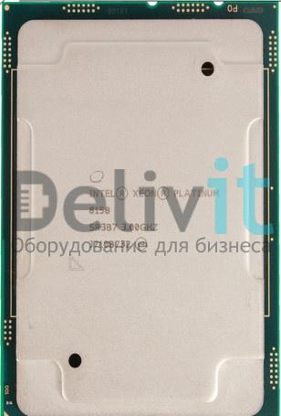 Процессор HPE DL380 Gen10 Intel Xeon-Platinum 8158 (3.0GHz/12-core/150W) Processor Kit
