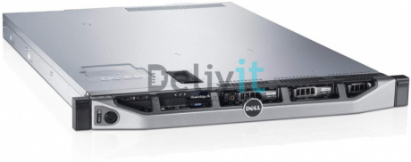 Сервер Dell PowerEdge R430 8B E5-2609v4 (1.7Ghz) 20M 8C 6.4GT / s 85W, 16GB (1x16GB) DR 2400MHz, PERC H330, DVD+ / -RW, 1.2TB 7.2K RPM SAS 2.5in Hot-plug Hard Drive, On-Board Broadcom 5720 1GBE, IDRAC8 Enterprise, PS 550W, Bezel, Sliding Rack Rails, 1U, 3